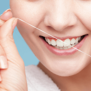 Dental floss - when to start flossing
