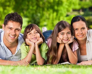 Family Smiling Etobicoke Dentist