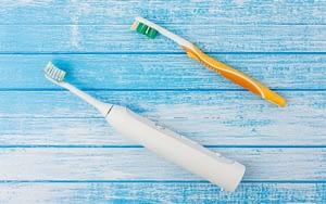 new-toothbrush-6-easy-oral-health-goals-for-2021-Etobicoke-dentist